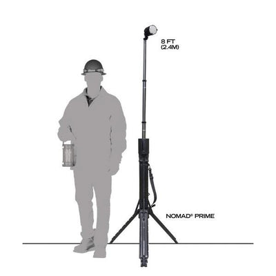 FoxFury Nomad® Prime Portable Area-Spot Light