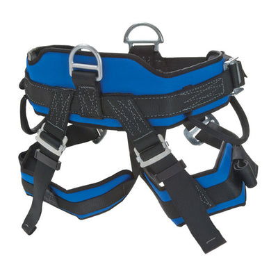 CMC Rescue Proseries Rescue Harness, Black/Blue