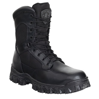 "Rocky Alpha Force 8"" Side-Zip Boots"