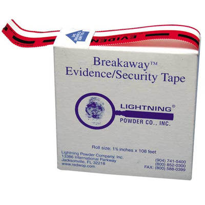 Forensics Source Tamper-Indicating Serrated Nik Evidence Tape