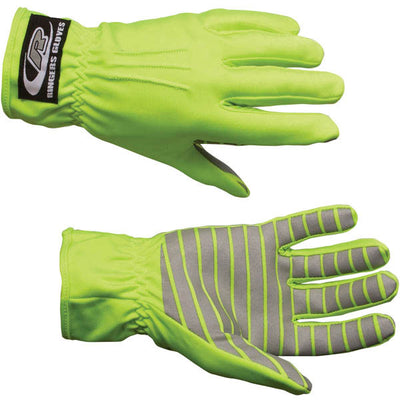Ringers Gloves Traffic Glove W/ Reflective Palms, Green