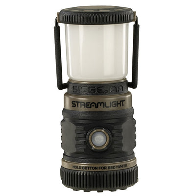 Streamlight Siege Aa Without Magnetic Base, Ultra-Compact, Alakaline Work Lantern, Coyote