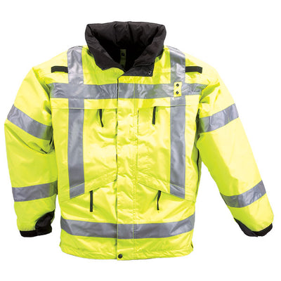 5.11 Tactical 3-In-1 Reflective Jacket, High-Visibility Yellow