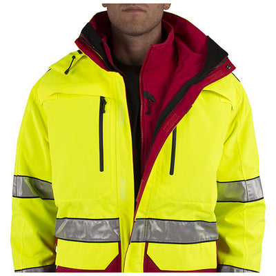 5.11 Tactical First Responder Hi-Vis Jacket, Tall