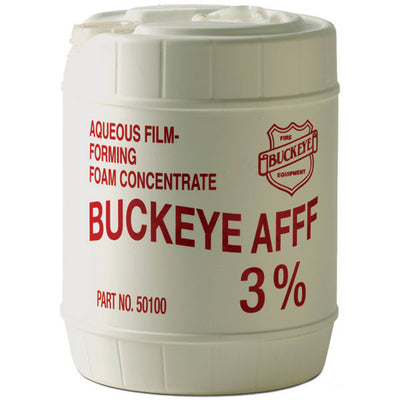 Buckeye Fire Equipment Firefighting Foam, Class B Synthetic, Afff, 5-Gallon Pail