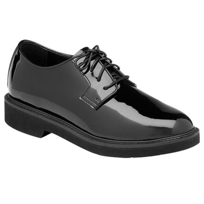 Rocky Professional Dress Black Oxford Shoes, Hi-Gloss, Mens