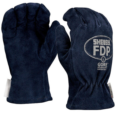 Shelby Specialty Gloves FDP Fire Gloves, Koala-Tanned Cowhide w/ Gore RT7100 Glove Barrier, Midnight Blue