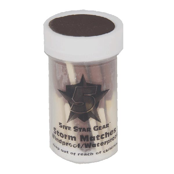 5 Star Gear 20 Storm Windproof/Waterproof Matches