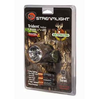Streamlight Buckmasters Camo Trident Headlamp With 3