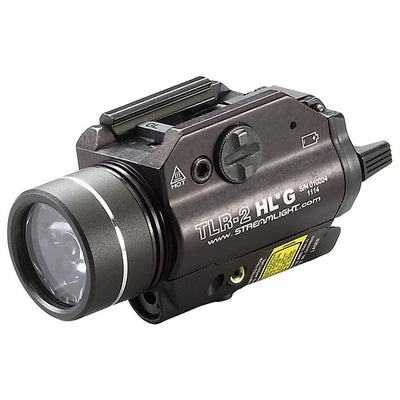 Streamlight Tlr-2 Hlâ® G Rail Mounted Tactical Flashlight W/ Green Laser