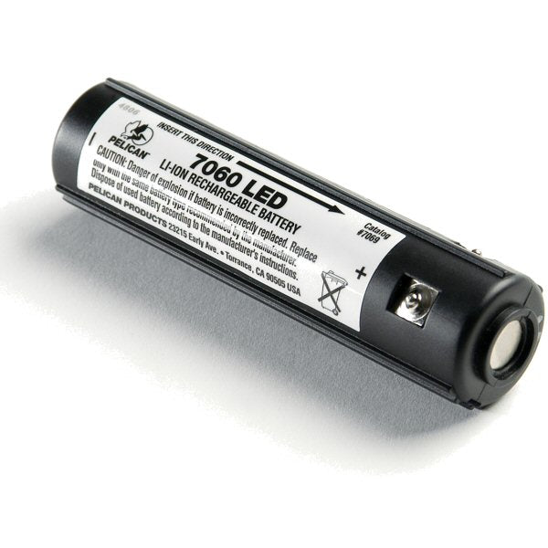 Pelican Li-Ion Battery Stick For Pelican 7060 Lapd Tactical Light