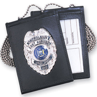 Strong Leather Company Recessed Badge & Id Holder