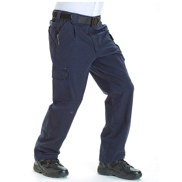 f0089c50510 5.11 Tactical Cotton Tactical Pants Fire Navy   Gray