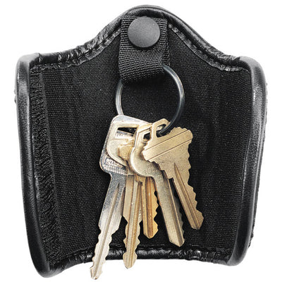 Uncle Mike's Silent Key Ring Holder, Black