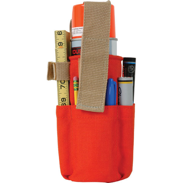 Seco Spray Can Holder W/ Belt Loop & Pockets