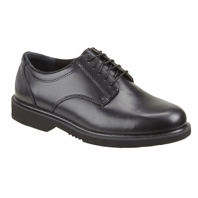 Thorogood Classic Leather Academy Oxford Dual Gender Shoe, Black