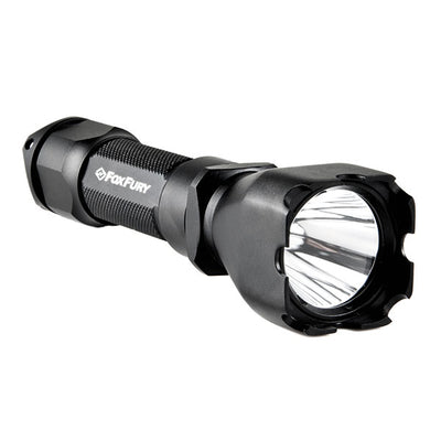Fox Fury Rook Checkmate Led Flashlight, Black