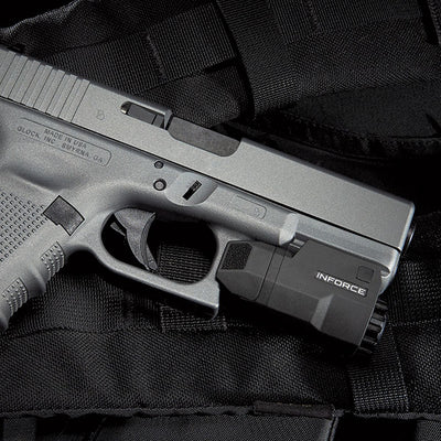 Inforce Aplc Compact Auto Pistol Light For Glock