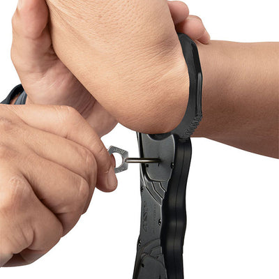 Rigid Ultra Handcuffs, Aluminum Bow