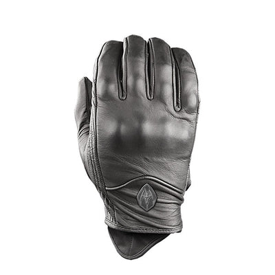 Damascus Worldwide Atx95 All Leather Patrol Gloves W/ Hard Knuckles, Black