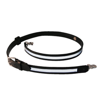 Boston Leather Firefighter'S Radio Strap, Nickel Hardware
