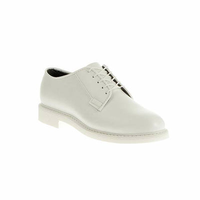 Bates Uniform Footwear Lites White Leather Oxford