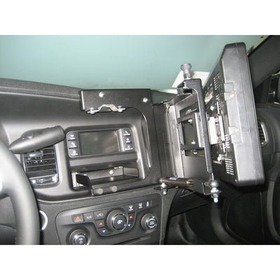 Havis Swing Out Dash Monitor Mount Base For Dodge Charger 2011-Current