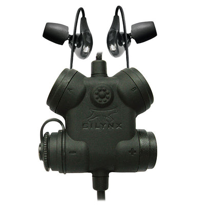 Silynx Clarus Fx2 Smart Tactical Headset System, Fixed Lead
