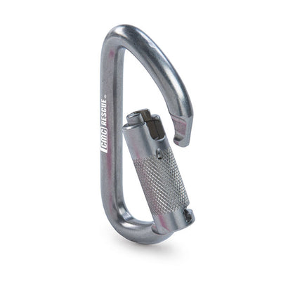 CMC Rescue Stainless Steel Carabiner, Auto-Lock