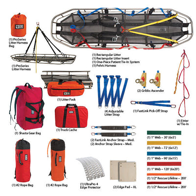 CMC Rescue Usar Task Force Traditional Rigging Kit