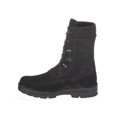 Bates Uniform Footwear Women's Durashocks US Navy Suede Steel Toe Boots