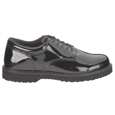Bates Uniform Footwear Women's High Gloss Duty Oxford
