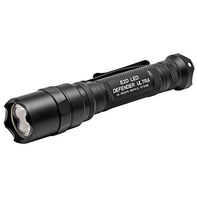 Surefire E2D Led Defender Ultra Dual-Output LED, 500/5 Lu, (2)123A, Black