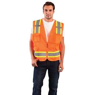 Occunomix Value Mesh Two-Tone Vest