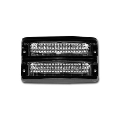 Soundoff Signal Nforce® Dual Stacked Surface Mount Light, Sae Class 1, 10-16V, Black Housing, 6 Led