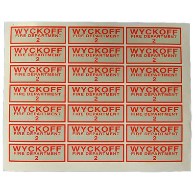 American Trade Mark Co Equipment Decals