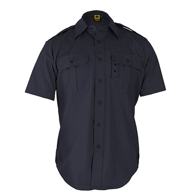 Propper Battle Rip Tactical Dress Shirt Long Sleeve, Black & Dark Navy