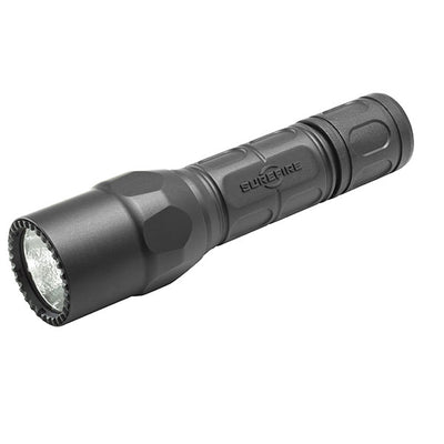 Surefire G2X Pro Flashlight, Led Dual Stage 320/15 Lu, (2)123A