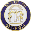 Smith & Warren Georgia State Badge Seal GAM