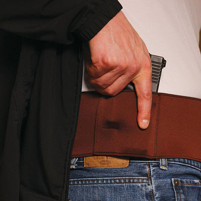 Gould & Goodrich 727 The Body Guard Waistband Holster, Tan