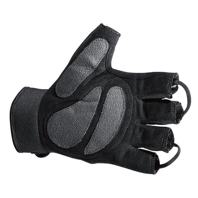 Hatch Hlg250 Shearstop Half Finger Cycle Glove, Black