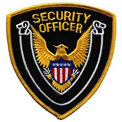 Hero's Pride  Security Emblem Patch