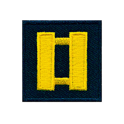 Hero's Pride  Embroidered Twill Rank Patch
