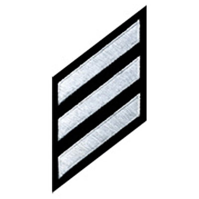 Hero's Pride  Service Stripes On Felt