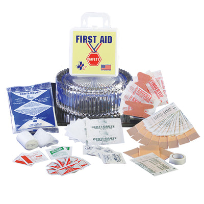 Certified Safety Manufacturing Safety Award First Aid Kit
