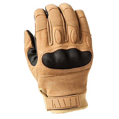 HWI Gear Hard Knuckle Tactical Touchscreen Glove, Coyote