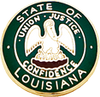 Smith & Warren Louisiana State Badge Seal Dark Green LA2GRM