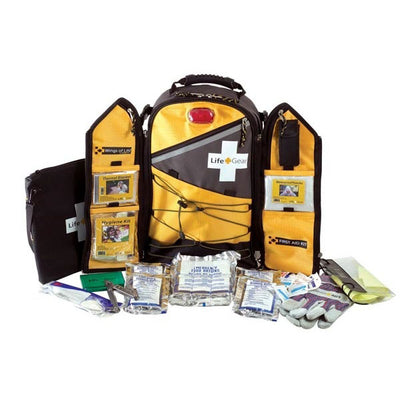 Life Gear Wings-Of-Life Backpack With Life Essentials, 3-Day Food & Water