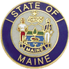 Smith & Warren Maine State Badge Seal MEM