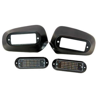 Whelen Mirror-Beam Led Series Lighthead, 1 Pair